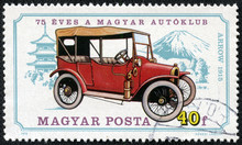 Stamp Printed In Hungary Shows...