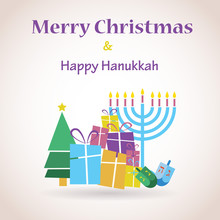 Happy Hanukkah And Merry Chris...