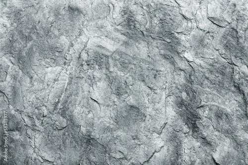 Deurstickers Stenen grey stone wall