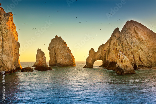 Photo sur Aluminium Mexique Land's End