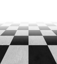 Checkered Background Floor Pat...