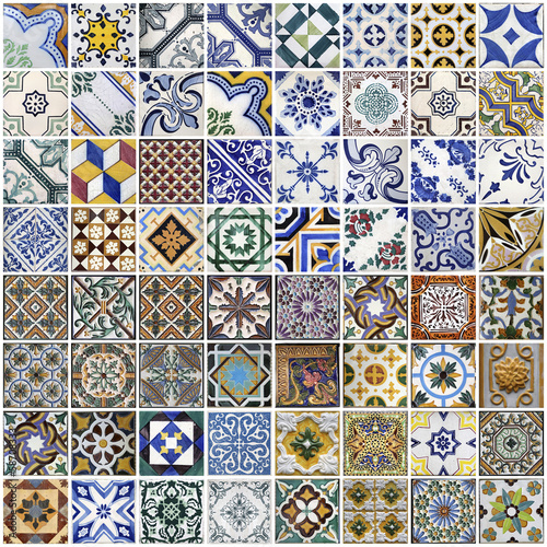 Fotografía  Traditional tiles from Porto, Portugal