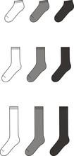 Vector Illustration Of Socks