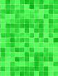 Leinwanddruck Bild - Green tiles wall covering