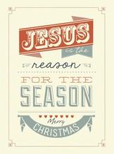 Vintage Christmas Typographica...
