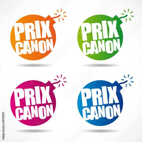 Prix canon ! Canvas Print