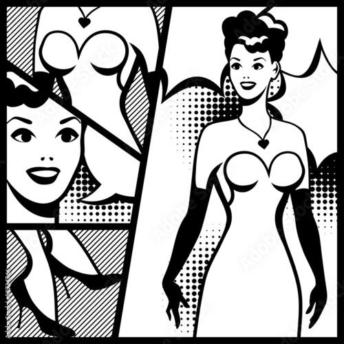 ilustracja-retro-dziewczyna-w-stylu-pop-art