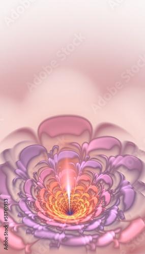 fraktal-rozowy-kwiat