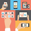 Mobile and tablet business communication usage