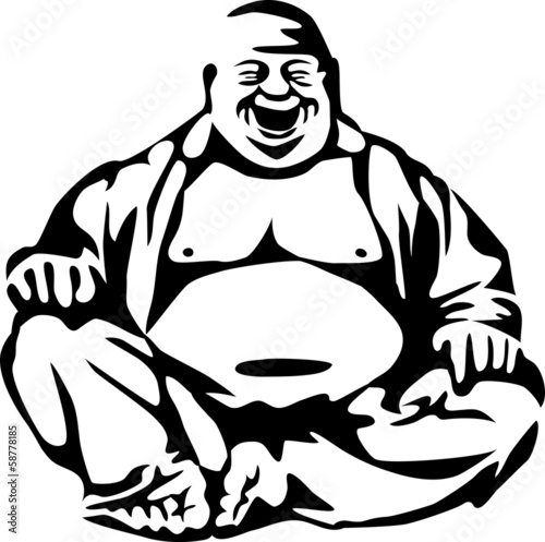 Fotografia  laughing buddha