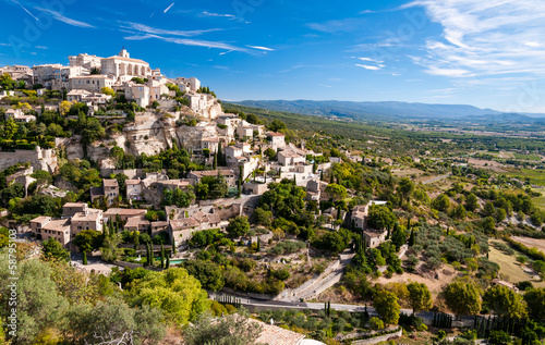 Gordes the beautiful village from provence Wallpaper Mural
