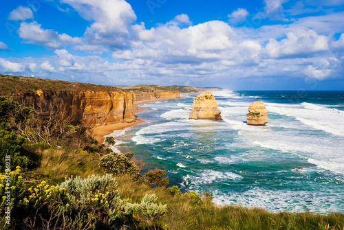 Foto op Canvas Australië Twelve Apostles, Great Ocean Road, Australia