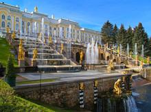 Peterhof In Russia