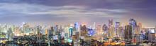 Bangkok Downtown Skyline Panor...