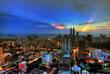 Kuala Lumpur City during sunrise