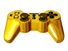Golden Gamepad, Joypad Or Game Controller