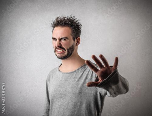 Fotografie, Tablou  Disgusted Guy