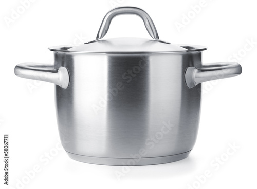 Stampa su Tela Stainless steel pot