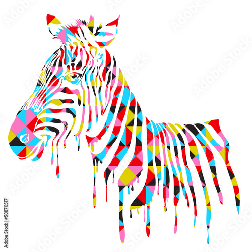 abstract-zebra-vector-illustration