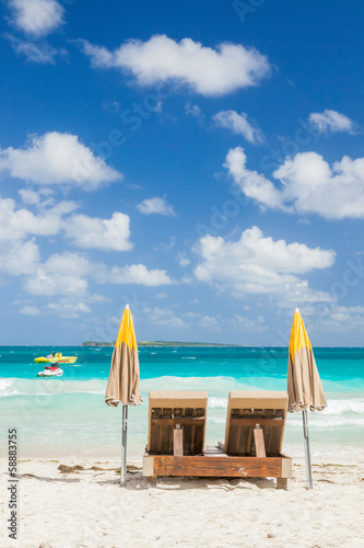 Foto op Plexiglas Caraïben St Maarten, Caribbean