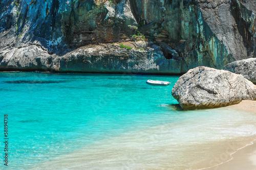 Photo  Sardegna, spiaggia di Cala Goloritzè, Baunei