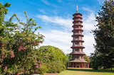 Pagoda tower in Kew Gardens