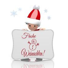 Mini Santa Claus Presents Germ...