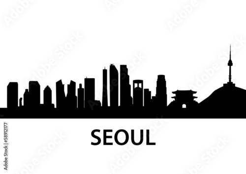 Photo  Skyline Seoul