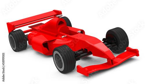 Foto op Canvas Cars Der Rennwagen