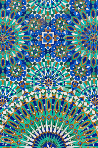 Papiers peints Maroc Moroccan decoration