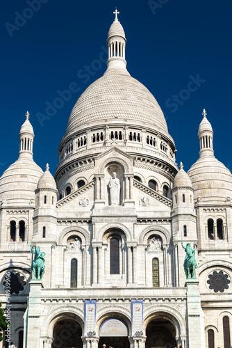 Photo  Sacre-Coeur Basilica on Montmartre, Paris