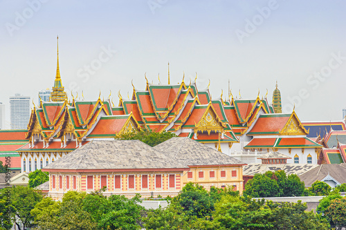 Photo Wat Phra Kaew and Grand Palace in Bangkok