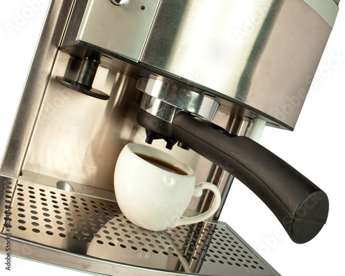 Canvas-taulu Coffee Machine and cup
