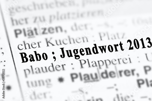 Photo  Babo Jugendwort 2013
