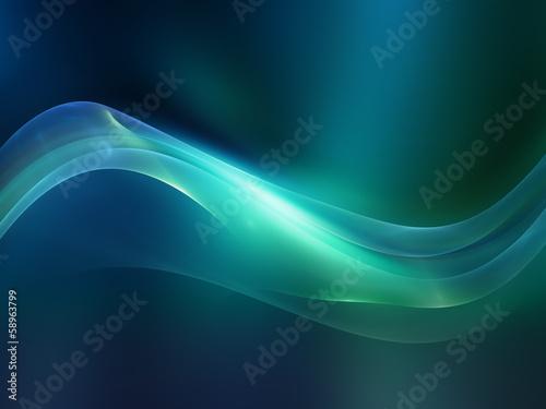 Fotografie, Obraz  Dreaming of Fractal Waves
