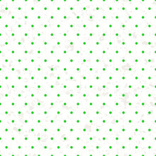 Seamless Tiny Polka Dots Green Pattern