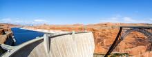 Panoramic View Of The Glen Dam...