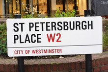 St Petersburgh Place Street Si...