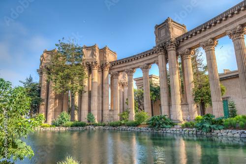 Fotografie, Obraz  Palace of Fine Arts