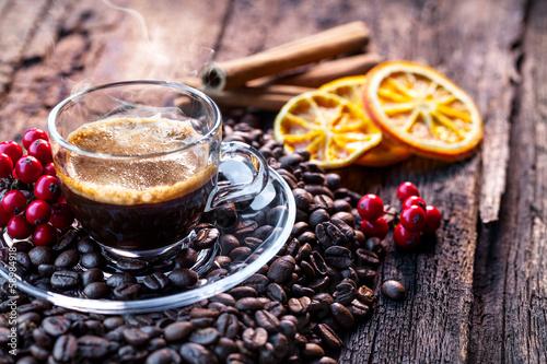 Deurstickers koffiebar caffè espresso