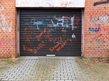 Plastic Garage Gate