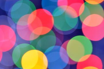 Fototapeta Fantasy magiczny kolorowy efekt bokeh