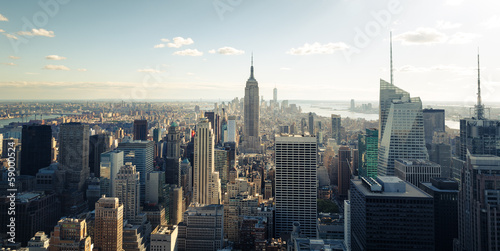 Poster New York New York skyline