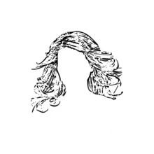 Women Hair Vector