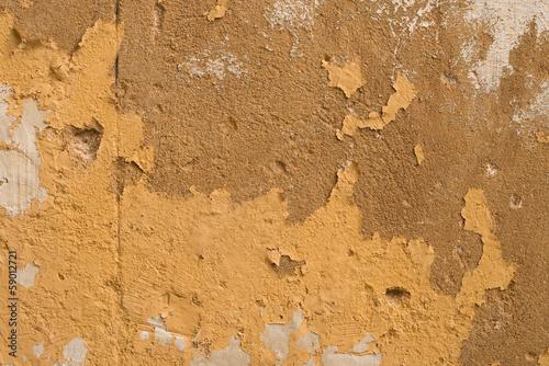 Poster Vieux mur texturé sale Peeling wall