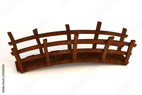 Recess Fitting Bridge realistic 3d render of bridge