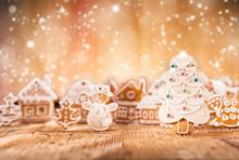 Christmas Gingerbread Village