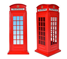 British Telephone Box, Isolate...