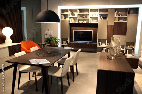 Fotografie, Obraz  interno casa