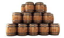 Stack Of Barrels